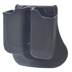 Double Magazine Pouch Fits Glock 17 19 22 23 26 27 31 32 33 34 35 37 38 39