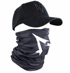 WATCH Dogs Face Mask Cap Set Aiden Pearce Costume Scarf