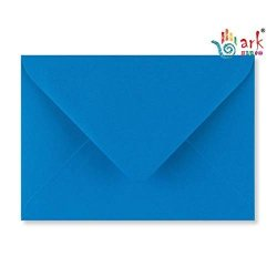 Arkcraft 25 X C6 Premium Envelopes 100GSM 114MM X 162MM Kingfisher Blue