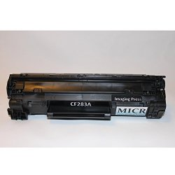 Imaging Press, LLC Ip 83A CF283A Secure Micr Toner Cartridge For Check  Printing Compatible With Hp Laserjet Pro M125 M125A M125NW M127FN M127FS  M127FW