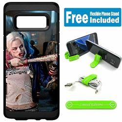 Limited Editions For Samsung Galaxy S8 Defender Rugged Hard Cover Case - Harley Quinn Real Chu