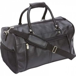 """Embassy Travel Gear 17"""" Faux Leather Tote Bag"""