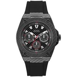 Guess Legacy Black Dial Multi-function Men's WATCH-W1048G2