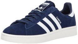 Adidas Originals Men's Campus Sneakers Dark Blue white chalk White 11 M Us