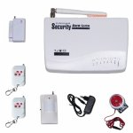 315 Mhz GSM Auto Dial sms Home & Office Security Alarm System