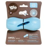 West Paw Design West Paw Zogoflex Qwizl Interactive Treat Dispensing Dog Puzzle Treat Toy For Dogs 100% Guaranteed Tough It Floa