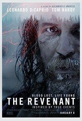 Wmg The Revenant- Movie Poster: 24 X 36 Inches - Glossy Photo Paper Thick 8 Mil Leonardo Dicaprio Tom Hardy