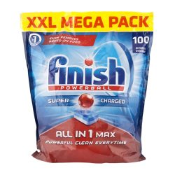 Finish Powerball ALL-IN-1 Max Auto Dishwasher Tablets 100PK