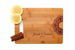Krezy Case Wooden Engraved Cutting Board Home D Cor Mandala Wedding Gifts For The Couple
