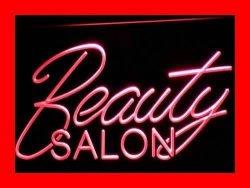 ADV PRO I308-R Beauty Salon Hair Nails Open Nr Neon Light Sign