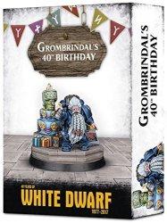 "Games Workshop Dwarf ""GROMBRINDAL""40 Years Of White Dwarf Limited Ed. Figure"