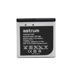 Astrum Replacement Battery For Nokia 9300 BT-6M - AN9300