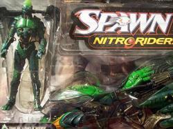 Mcfarlane Toys Spawn Nitro Riders Green Vapor Series 16