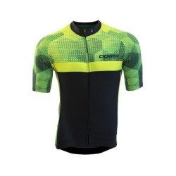 Ciovita Men s Colpire Cycling Jersey - Black   Green  11857186a