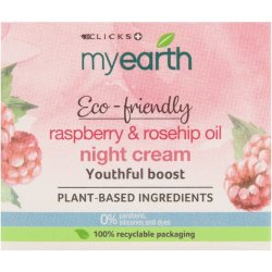 MyEarth Rasberry Seed Oil And Rosehip Youthful Boost Night Cream 50ML