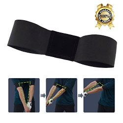 GKCI Golf Swing Training Aid Golf Arm Band Posture Motion Correction Belt For Golf Beginner