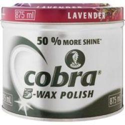 Cobra Wax Polish Lavender 875ML
