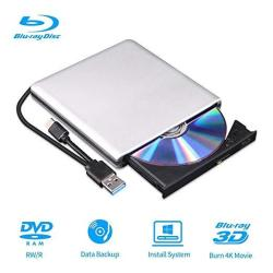 External Blu-ray DVD Drive 3D Player USB 3.0 And Type-c Bluray Cd DVD Burner Player Rewriter Reader Compatible For Macbook Os Wi