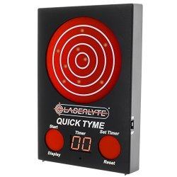 LaserLyte Trainer Target Quick Tyme With 62 Leds That Light Up Shot Timer Built In To Record Dry Fire Laser Shots Laser Tracer F