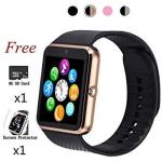 Beaulyn Smart Watch Bluetooth Touch Screen Watch Phone For Android Iphone Pedometer Smartwatch Sport Wrist Watch Compatible Sams