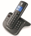 Bell Cordless Telephone AIR-05 - Dect Cordless Phone With Tam - Black Retail Box 1 Year Warranty.  50 Name And Number Directory