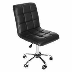 Fashion Casual Lift Chair Office Work Beauty Salon Spa Bar Stools Soft Leather Cushion Supportive Hydraulic Back Support Ergonomic Backrest Anti-fatigue 360 Degree Rotation