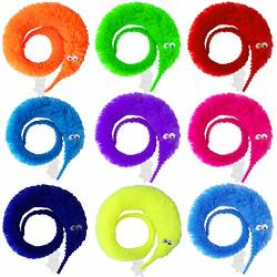 50 Onesing Pcs Magic Worms Toys Wiggly Worms Twisty Fuzzy Worm Trick Toys For Carnival Kid Party Favors10 Color