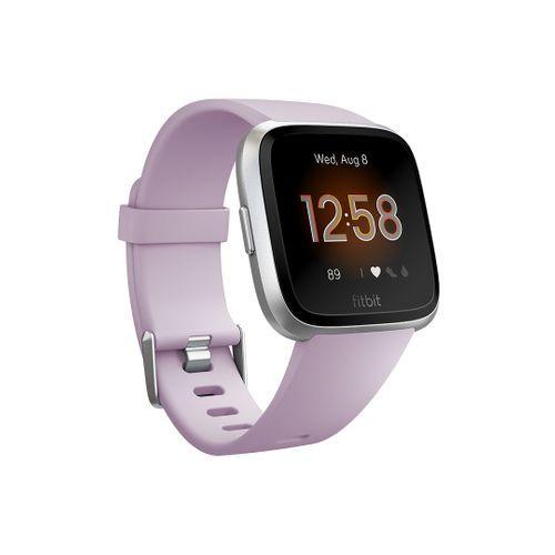 Fitbit Versa Lite Edition Smartwatch in Lilac & Silver