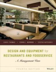 Design And Equipment For Restaurants And Foodservice - Chris Thomas Hardcover