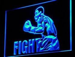 ADV PRO Boxing Fight Fighter Bar Beer Decor LED Sign Night Light I918-B C