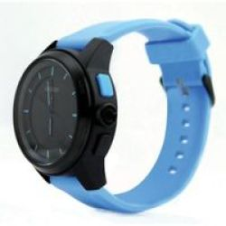 Cookoo The Connected Smart Watch For Ios 7 And Android 4.3 Devices Blue And Black