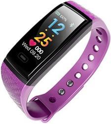 Xhbyg Smart Bracelet Smart Fitness Bracelet Intelligent Heart Rate Blood Pressure Monitor