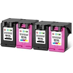 QINK Remanufactured For Hp 901 Hp 901XL Ink Cartridge High Yield Compatible  With Hp Officejet 4500 J4500 J4524 J4540 J4550 J4580 | R1595 00 | Office
