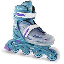 Crazy Skates Adjustable Inline Skates For Girls Beginner Kids Rollerblades Available In Three Colors