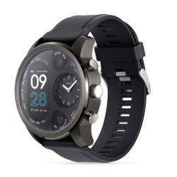 T3 Dual Display Smart Watch For Men IP68 Waterproof Fitness Bracelet 15 Days Standby Business Smartwatch Activity Tracker Gray