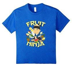 Fruit Ninja Official Kids Fruit Ninja - Yes Sensei 10 Royal Blue