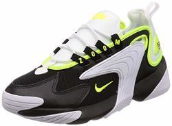 Nike Men's Zoom 2K Black volt white Synthetic Cross-trainers Shoes 11.5 M Us