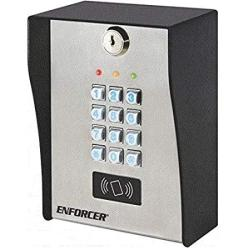 Enforcer SK-3133-PPQ Heavy-duty Outdoor Access Control Keypad With Proximty Reader