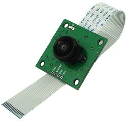 Arducam OV5647 Camera Board With LS-40180 Fisheye Lens M12X0.5 Mount For Raspberry Pi 3
