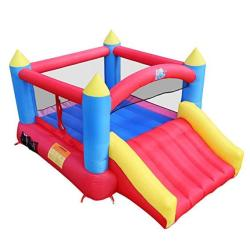 Action Air Inflatable Castle House Jumping Castle With Air Blower Inflatable Castle For Outdoor And Indoor