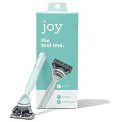Joy. The Real One Teal Razor With 2 Cartridges