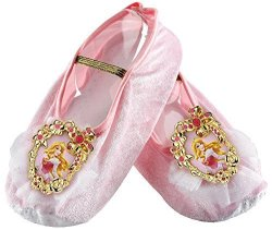DISGUISE Aurora Ballet Slippers One Size Child