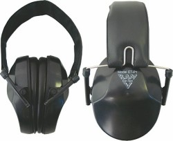 RAM Ear Tect EF6G11 Ear Muffs in Black