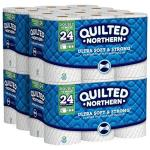 Quilted Northern Ultra Soft & Strong Toilet Paper 48 Double Rolls 48 = 96 Regular Rolls 4 Pack Of 12 Rolls