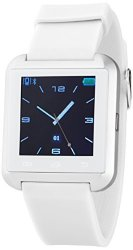 Victory Wireless Bluetooth Smartwatch With Pedometer White