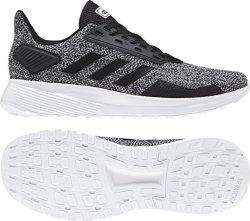 Adidas Men's Duramo 9 Running Shoes - Black grey