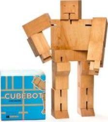 Areaware Cubebot - XL Natural