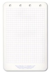 Aviation Supplies & Academics, Inc. Asa's 4 Ring Notepad Naco Binders