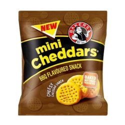 Bakers MINI Cheddar Bbq 33GR