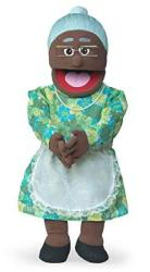 """USAD 30"""" Granny Black Grandmother Professional Performance Puppet With Removable Legs Full Or Half Body"""